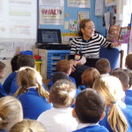 Kelly Visits Parley First School